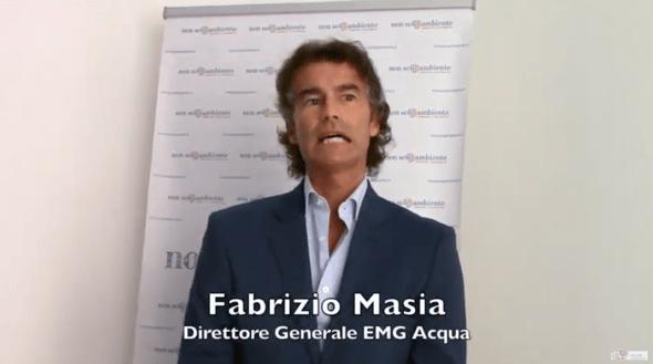 Fabrizio Masia, direttore generale EMG Acqua