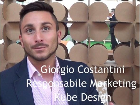 Speciale Ecomondo: intervista a Giorgio Costantini della Kubedesign