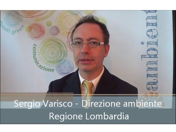 Speciale Ecomondo: intervista a Sergio Varisco – Regione Lombardia