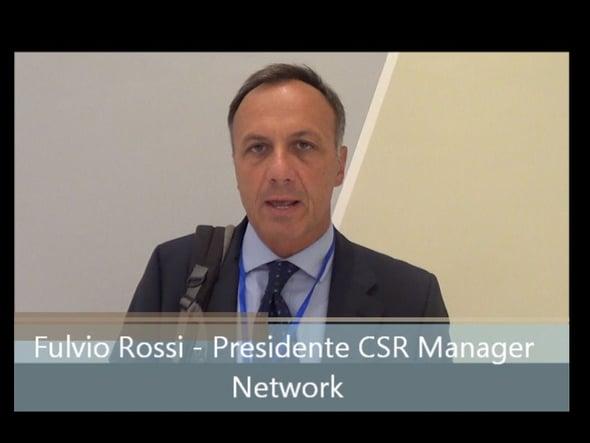 Speciale Salone CSR: intervista a Fulvio Rossi - CSR Manager Network