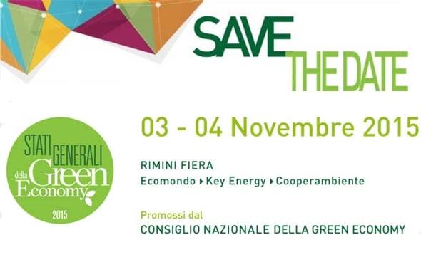 Stati Generali della Green Economy: a Ecomondo si discute di economia verde
