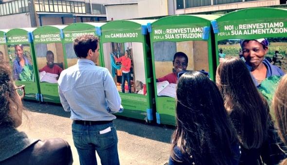 Trasformare un rifiuto in risorsa: Humana al Salone della CSR e dell'innovazione sociale