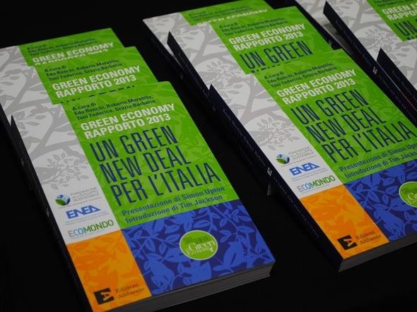 Un Green New Deal per l'Italia: presentato il Rapporto sulla Green Economy 2013