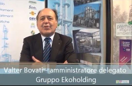 Speciale Ecomondo: intervista a Valter Bovati - Ekoholding