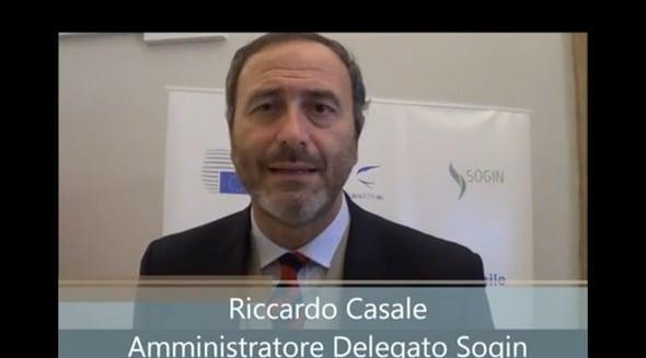 Intervista a Riccardo Casale, Amministratore Delegato SOGIN