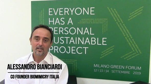 Intervista ad Alessandro Bianciardi - Milano Green Forum