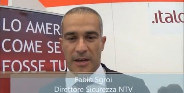 Intervista a Fabio Sgroi direttore sicurezza NTV