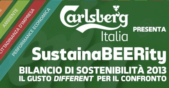 Bilancio di sostenibilità 2013 Carlsberg: oltre i numeri per una nuova cultura della sostenibilità.