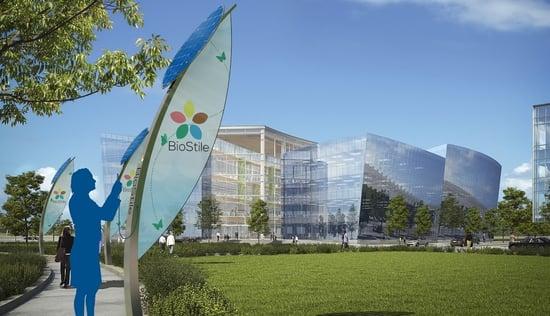 BioStile sbarca a Ecomondo con l'innovativo arredo urbano Vela