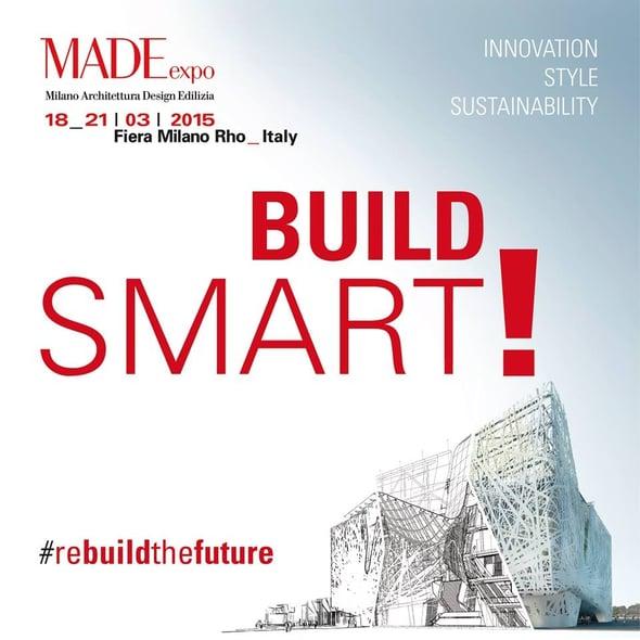 B[uild]SMART! il padiglione sostenibile di MADE Expo