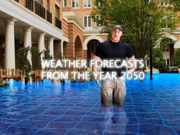 """Global warming datato 2050: online i video delle """"Previsioni meteo dal futuro"""""""