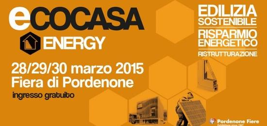 Ecocasa Energy: verso la bioedilizia