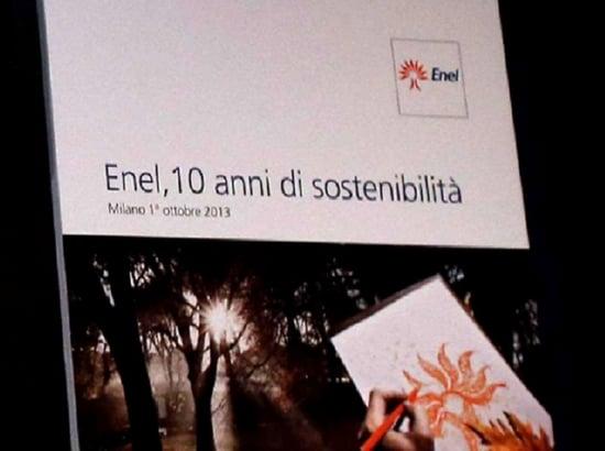Speciale Salone CSR - i 10 anni di Bilancio Sostenibile di ENEL