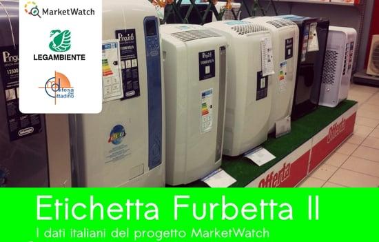 Risparmio ed efficienza energetica negli elettrodomestici: l'indagine Etichetta Furbetta