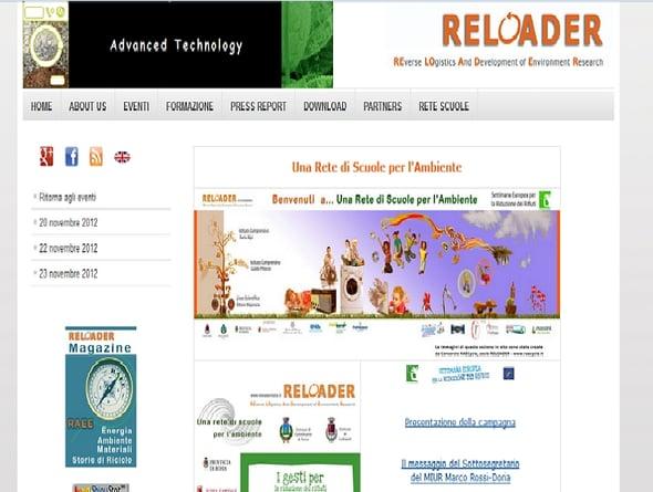 Reloader, progetti nelle scuole per la riduzione dei RAEE