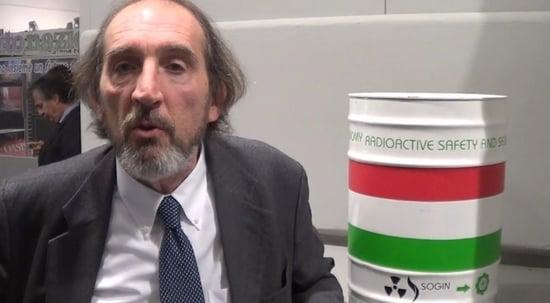 Ecomondo 2015 - Intervista a Fabio Chiaravalli, Direttore Deposito Nazionale - SOGIN