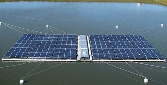 Singapore: il fotovoltaico sarà anche sull'acqua!