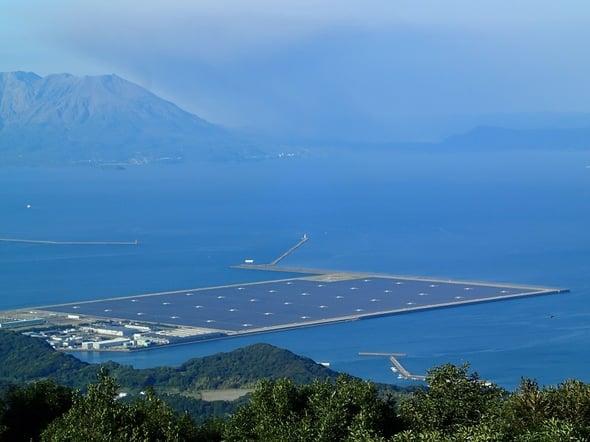 Inaugurato il più grande impianto fotovoltaico del Giappone