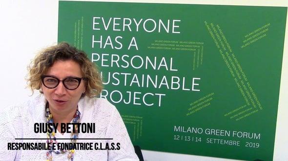 Giusy Bettoni - Milano Green Forum 2019