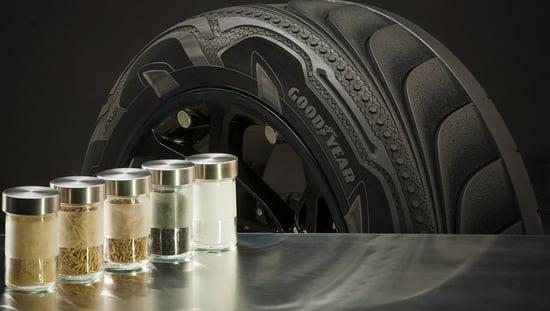 Primi pneumatici sostenibili prodotti con silice di lolla di riso