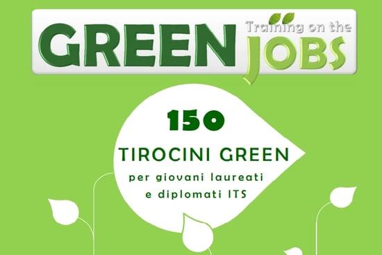 In arrivo 150 tirocini formativi per i giovani con il Progetto Greenjobs
