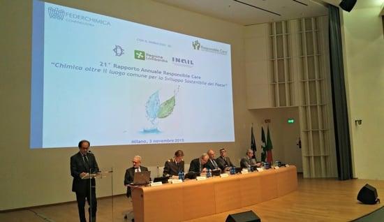 Industria chimica e sostenibilità: presentati i dati del 21° Rapporto Annuale Responsible Care