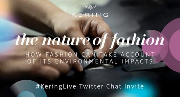 La sostenibilità del gruppo Kering passa anche dalla comunicazione via Twitter