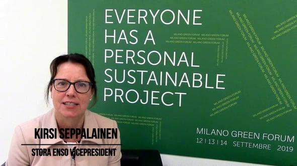 Kirsi Seppalainen - Milano Green Forum 2019