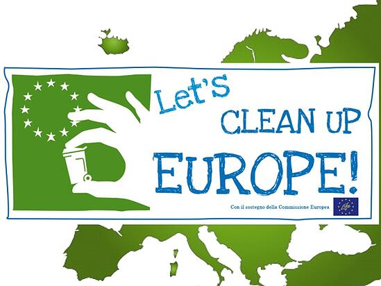"L'Europa ripulisce l'Europa: è tempo di ""Let's Clean Up Europe!"""