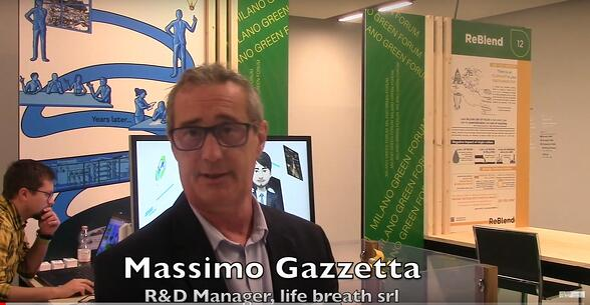 Massimo Gazzetta, R&D Manager di life breath srl a MilanoGreenForum