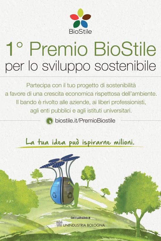 Al via il 1° Premio per lo sviluppo sostenibile
