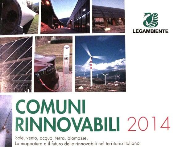 Rapporto Comuni Rinnovabili: il 100% dei Comuni italiani ha impianti green