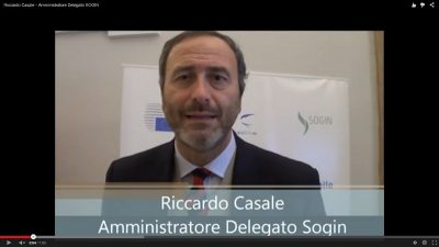 Intervista a Riccardo Casale - Amministratore Delegato SOGIN