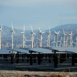 In California si integrano rinnovabili e deserto