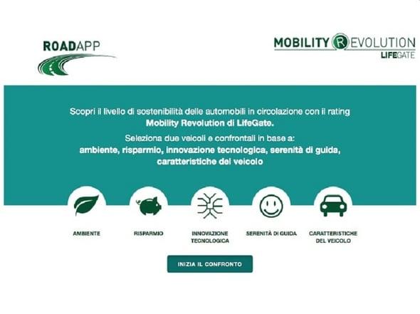 Arriva RoadApp, un'app per la sostenibilità