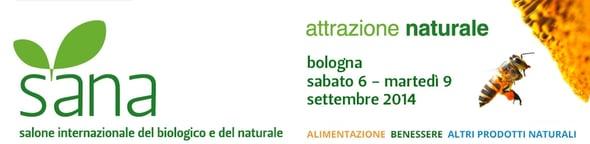SANA - Salone Internazionale del biologico e del naturale - 6-9 settembre 2014
