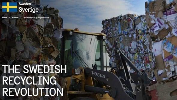 La Svezia premia il riciclo: sgravi fiscali a chi recupera invece di buttare