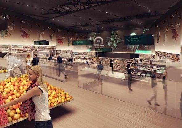 Spesa etica nel supermercato del futuro