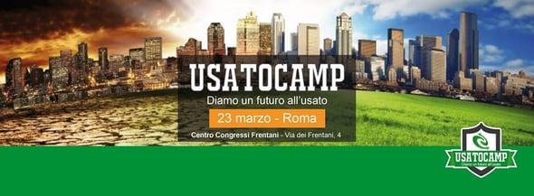 Usato Camp: diamo un futuro all'usato!