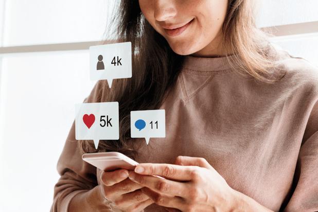 social media fundraising