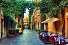 Restaurant in Trastevere, Rome