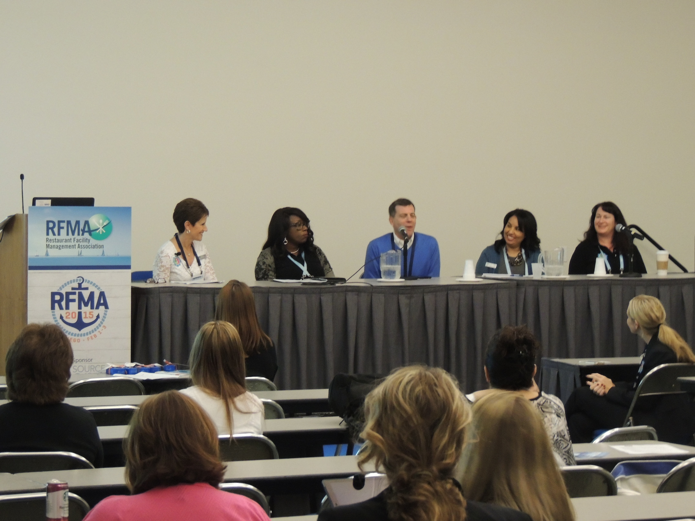 Females in Facilities, RFMA 2015, ServiceChannel