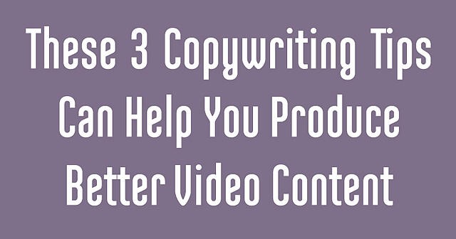 3 copywriting tips