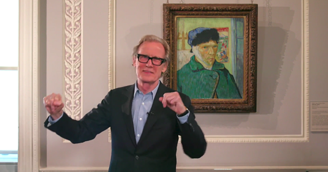Bill Nighy HERO video