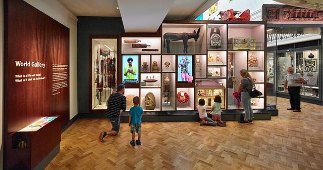 Horniman Museum - World Gallery video