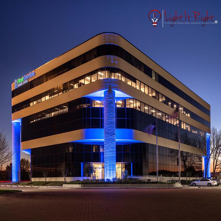New Commercial Project by Light It Right in Houston, TX