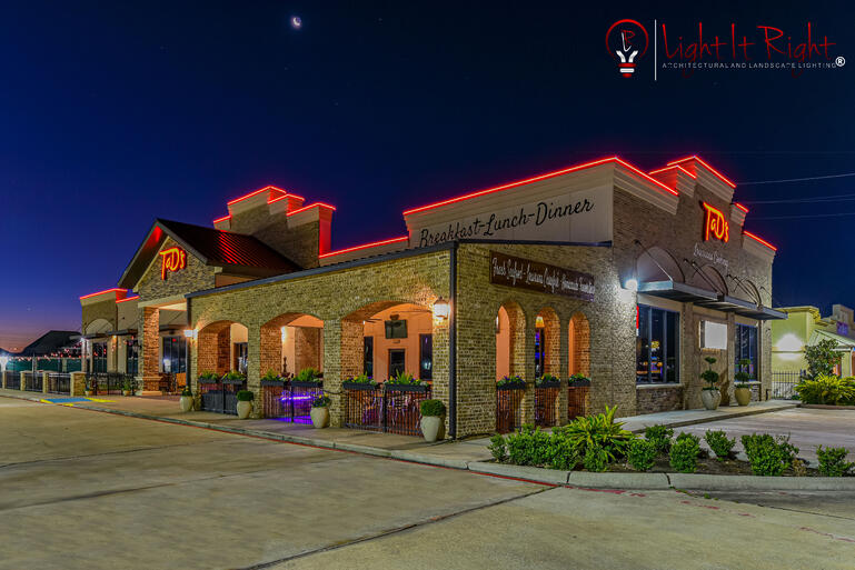 New Commercial Project by Light It Right in Katy, TX