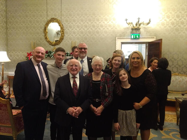KMLabs Co-Founder Margaret Murnane Receives Ireland's Presidential Distinguished Service Award for the Irish Abroad