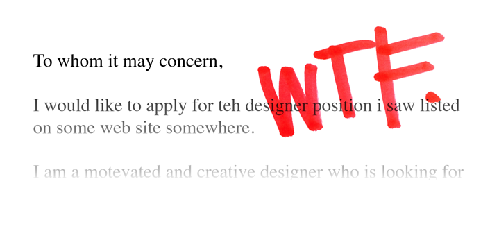 He/she applied for a design job. You won't believe what happened next!