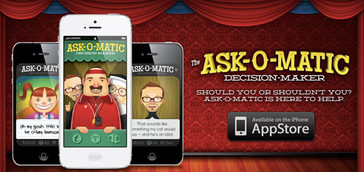 Ask-O-Matic: The Decision Maker App!